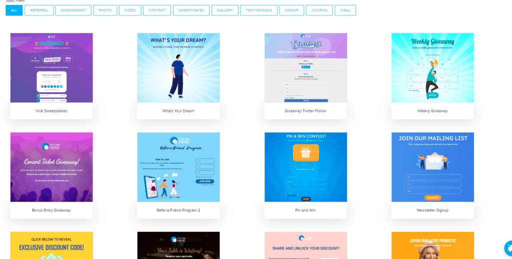 campagne social concorsi giveaway sociamonials toolperfreelance