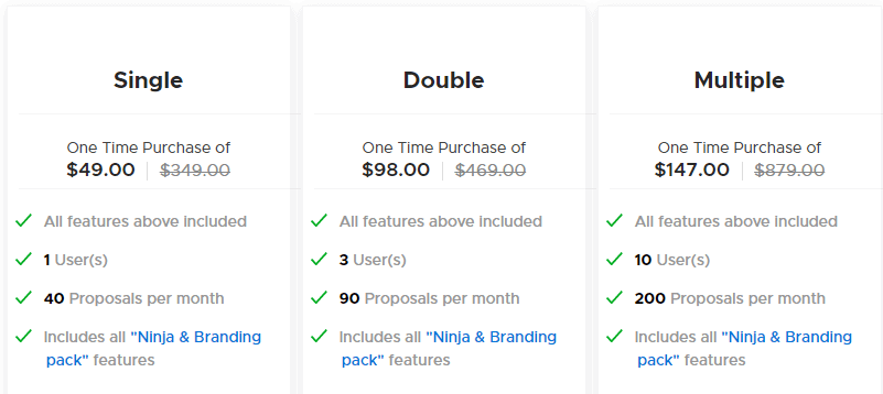 prezzi app preventivo professionale