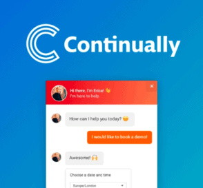 continually chatbot live logo